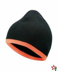 Black-Orange Зимна шапка Noel