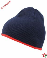 Navy-Red Зимна шапка Noel