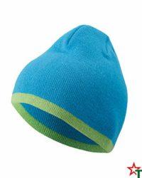 Azure-Lime Зимна шапка Noel