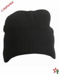 Black Зимна шапка Rubi