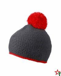 Red Зимна шапка Pompon