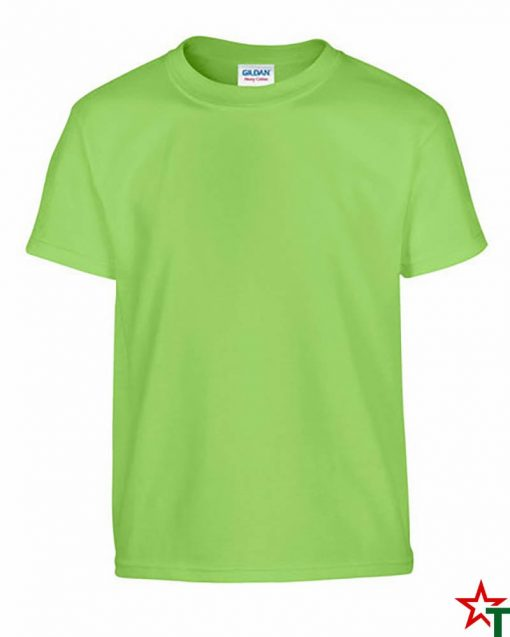 Lime Детска тениска Gildan Heavy Cotton