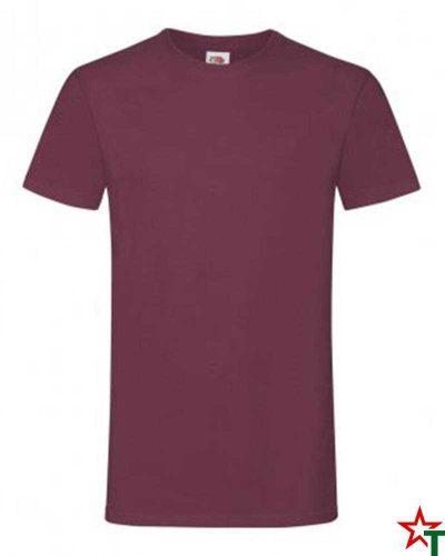 592 Burgundy Мъжка тениска Simon Soft