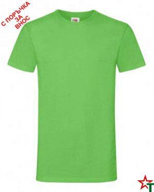 592 Lime Мъжка тениска Simon Soft