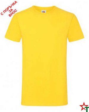 592 Yellow Мъжка тениска Simon Soft