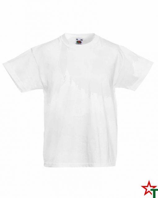 White Детска тениска Minimal
