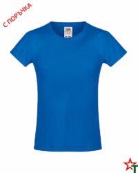 Royal Blue Детска тениска за момиче Sofi Soft