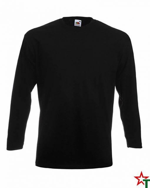Black Мъжка тениска S Premium Long