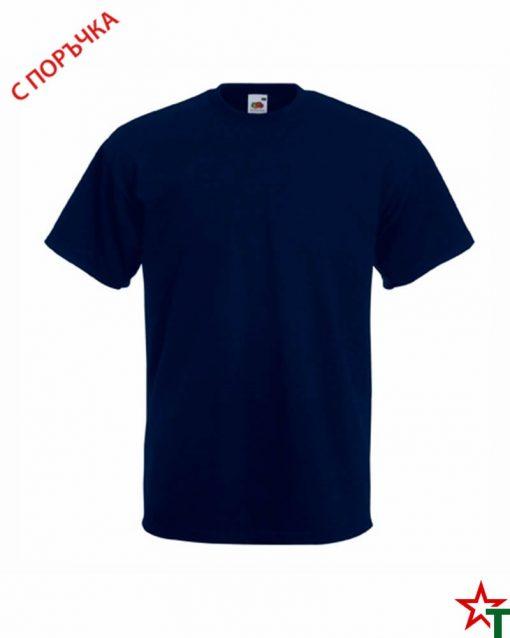 Deep Navy Мъжка тениска Porter P