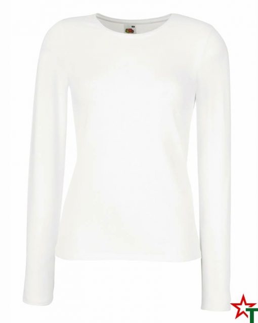 White Дамска тениска Dixie Long Fit Mix