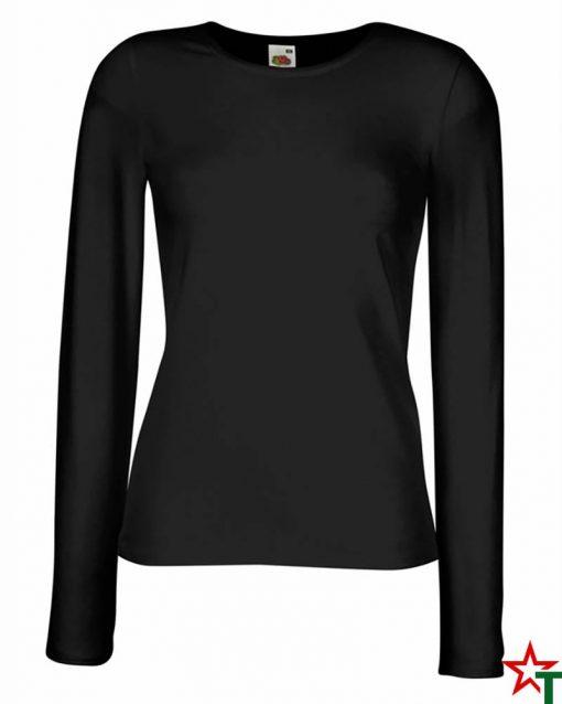Black Дамска тениска Dixie Long Fit Mix