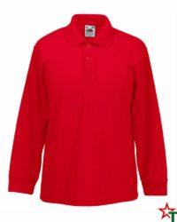 Red Детска риза Polo Long