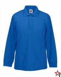 Royal Blue Детска риза Polo Long