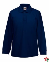 Deep Navy Детска риза Polo Long