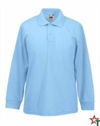 Sky Blue Детска риза Polo Long