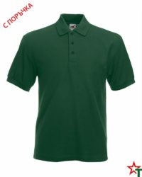 Bottle Green Риза Polo Heavy 65/35
