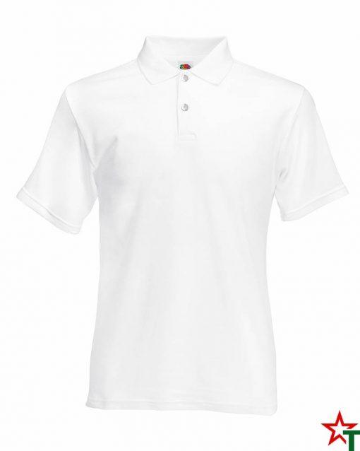 White Мъжка риза Renal Polo