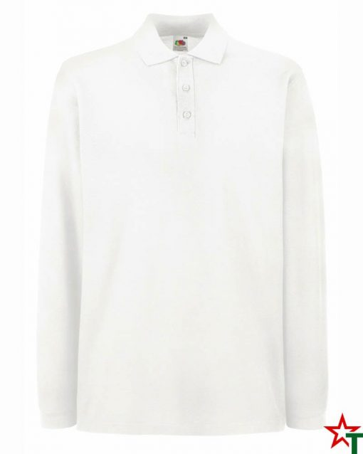 White Мъжка риза Sleng Premium