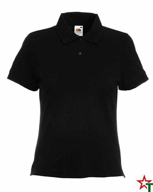 Black Дамска риза Polo Cotton Mix Lycra
