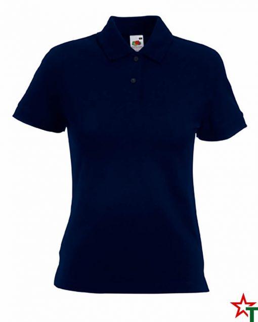 Deep Navy Дамска риза Polo Cotton Mix Lycra