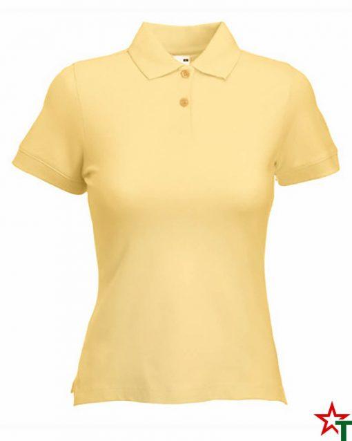 Light Gold Дамска риза Polo Cotton Mix Lycra