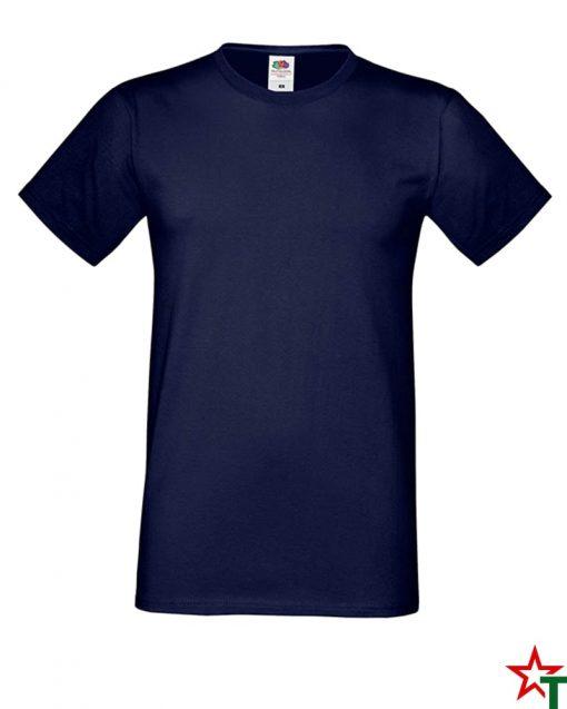 BG592 Deep Navy Мъжка тениска Simon Soft