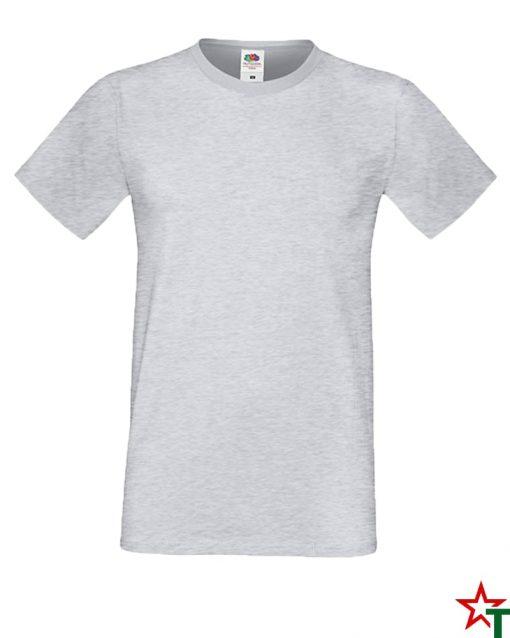 BG592 Heather Grey Мъжка тениска Simon Soft
