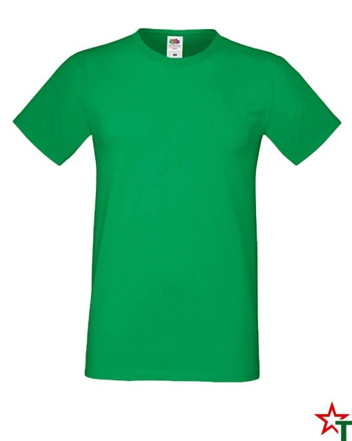BG592 Kelly Green Мъжка тениска Simon Soft
