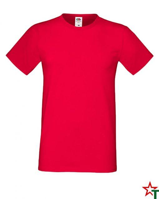 BG592 Red Мъжка тениска Simon Soft