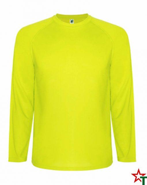 Yellow Neon Спортна тениска Montelong