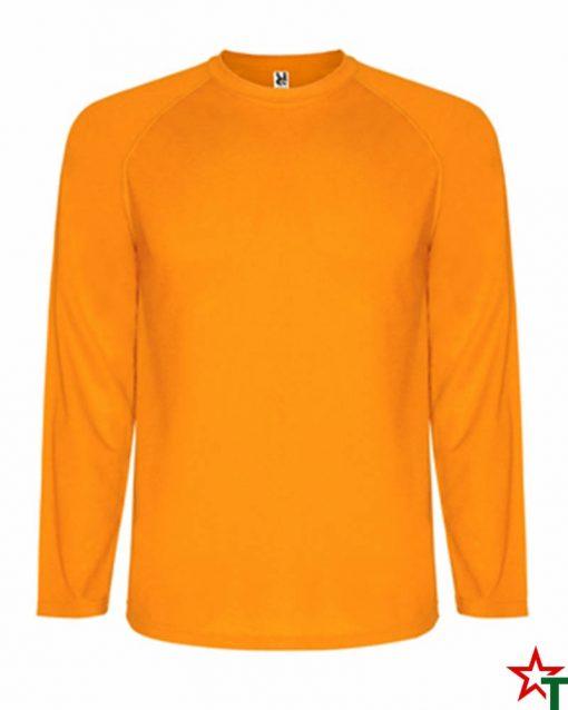 Orange Neon Спортна тениска Montelong