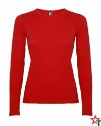 Red Дамска тениска Pointer Long Mix