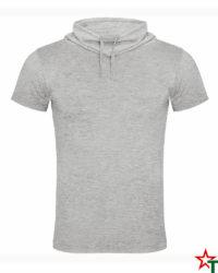 Heather Grey Мъжка тениска Leonardo
