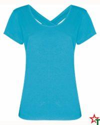 Azure Blue Дамска тениска Aliva