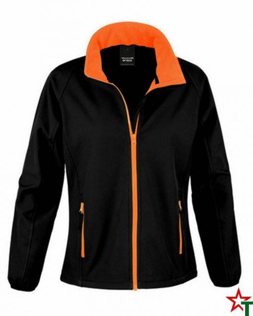 Black-Orange Дамско яке Lola