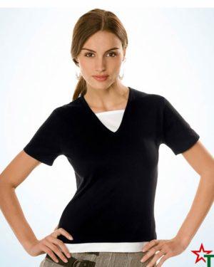 Black-White Дамска тениска Lady Double Style