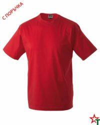 Red Тениска Oval Medium
