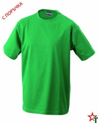 Kelly Green Тениска Oval Medium