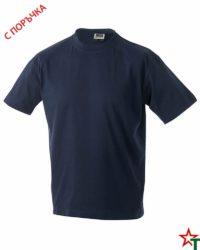 Deep Navy Тениска Oval Medium