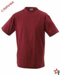 Brickred Тениска Oval Medium