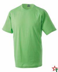 Lime Тениска Oval Medium