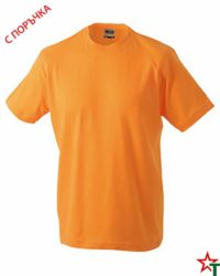 Light Orange Тениска Oval Medium
