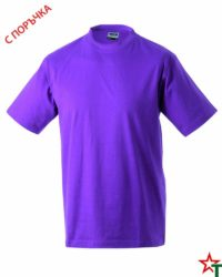Light Purple Тениска Oval Medium