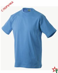 Midblue Тениска Oval Medium