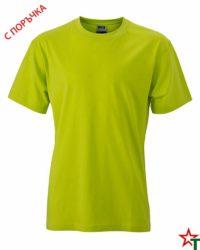 Bright Yellow Тениска Oval Medium