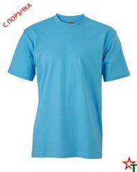 Sky Blue Тениска Oval Medium