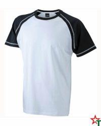 White-Black Мъжка тениска Men D Reglan