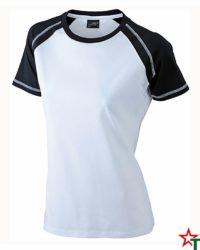 White-Black Дамска тениска Lady D Reglan