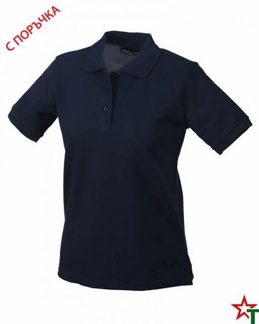Navy Дамска риза Lady Classic Polo