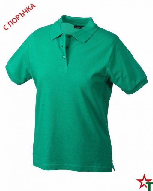 Kelly Green Дамска риза Lady Classic Polo
